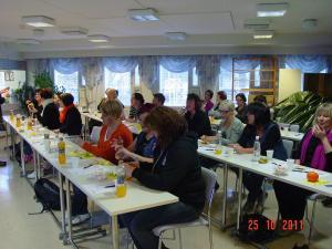 Henkilökunnan koulutus 2011