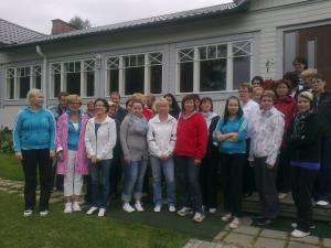 Henkilökunnan viristyspäivä Tynkkylänhovissa 20.8.2011